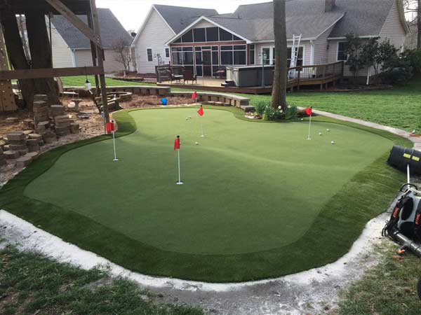 Practice Golf Greens Custom Design And Installation